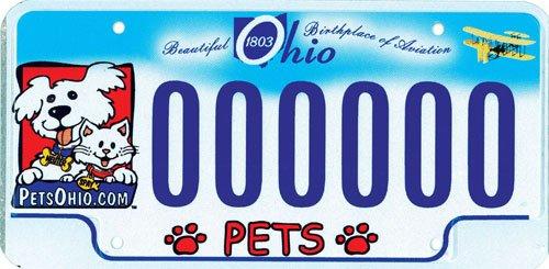 Ohio Pet Plate